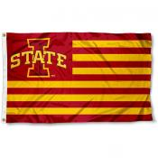 Iowa State Cyclone Nation Flag