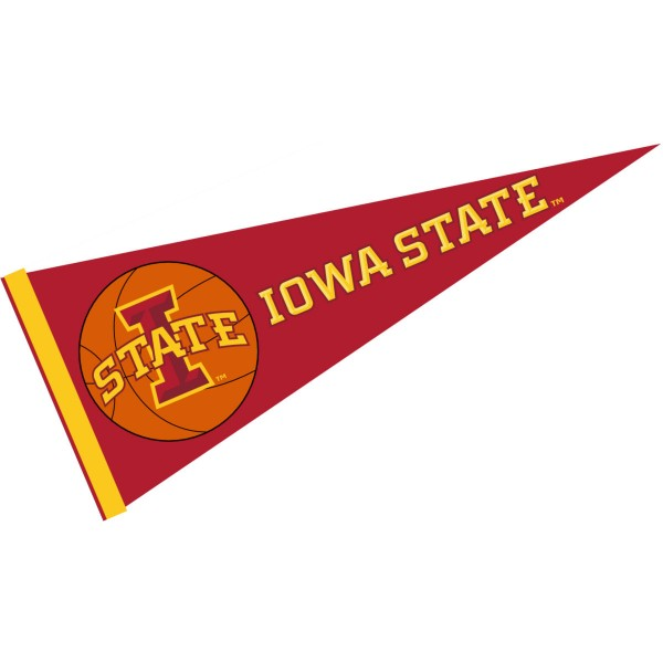 Iowa State Cyclones Basketball Pennant