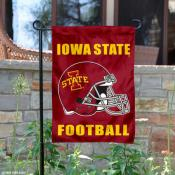 Iowa State Cyclones Football Garden Flag
