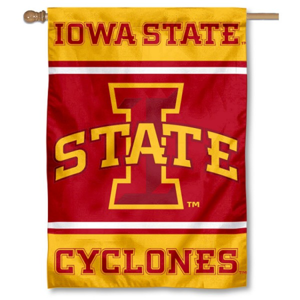 Iowa State Cyclones House Flag