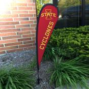 Iowa State Cyclones Mini Teardrop Garden Flag