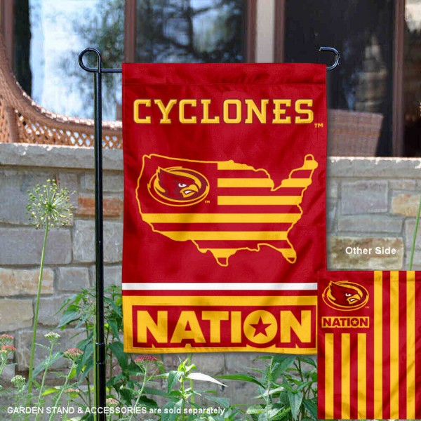 Iowa State Cyclones Nation Garden Flag