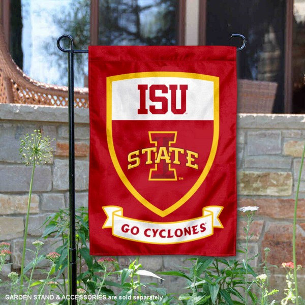 Iowa State Cyclones Shield Garden Banner