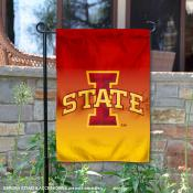 Iowa State Cyclones Two Tone Garden Banner