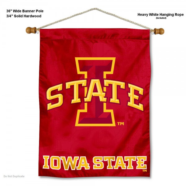 Iowa State Cyclones Wall Hanging And Wall Hangings For