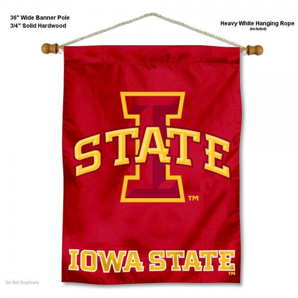 Iowa State Cyclones Wall Hanging
