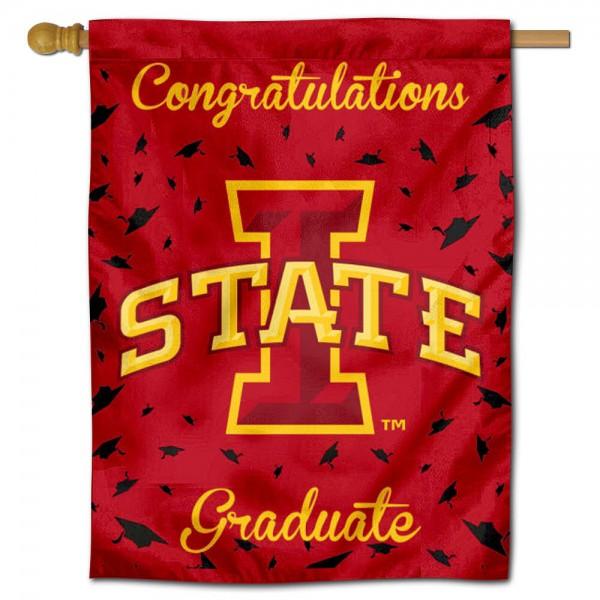 Iowa State Graduation Banner