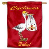 Iowa State New Baby Banner