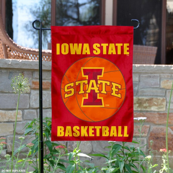 Iowa State University Basketball Garden Flag
