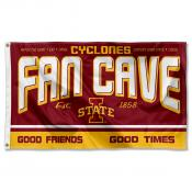 Iowa State University Cyclones Man Cave Dorm Room 3x5 Banner Flag