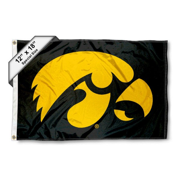 Iowas Hawkeyes Mini Flag
