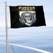 IPFW Mastodons Boat Nautical Flag