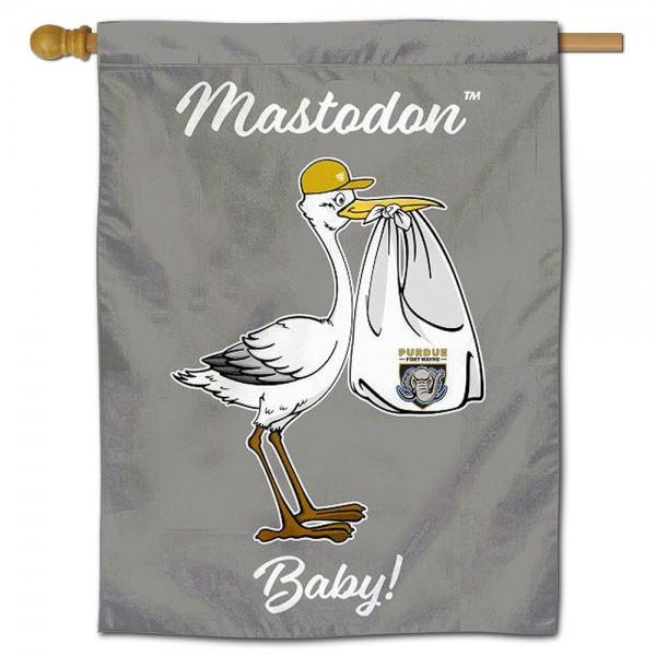 IPFW Mastodons New Baby Banner