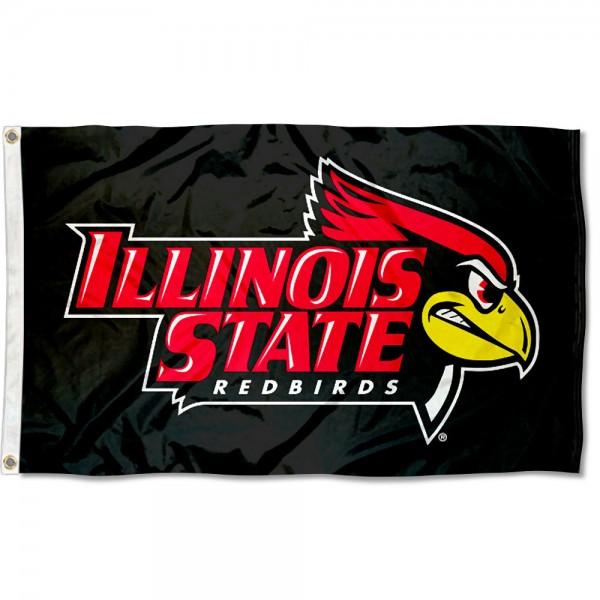 ISU Redbirds Black Flag