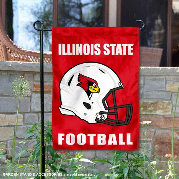 ISU Redbirds Football Garden Flag