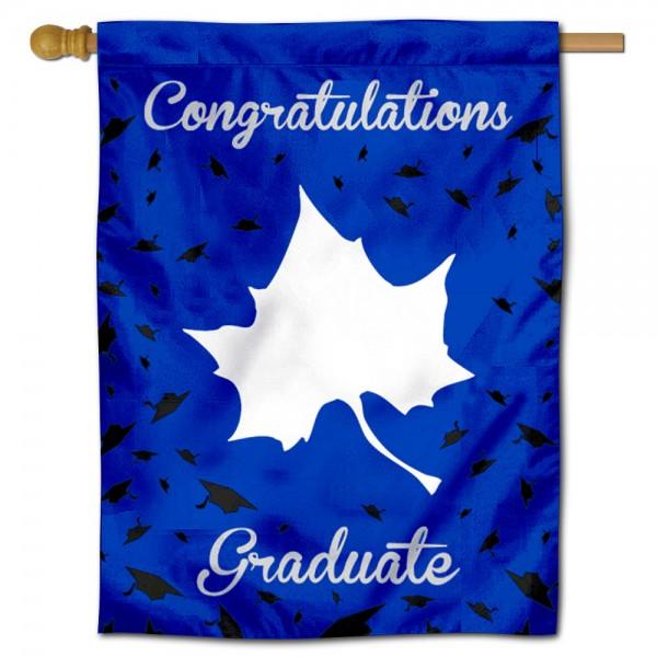 ISU Sycamores Graduation Banner