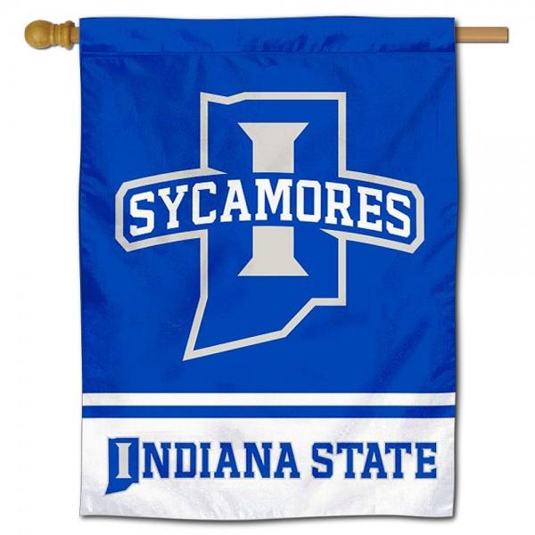 ISU Sycamores House Flag