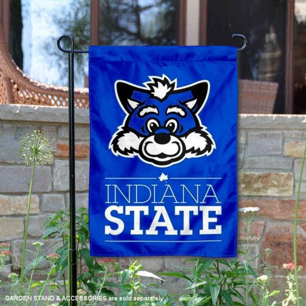 ISU Sycamores Mascot Garden Flag