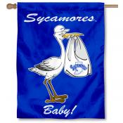 ISU Sycamores New Baby Banner