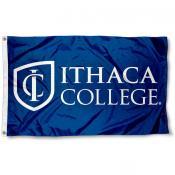 Ithaca College Wordmark Logo Flag