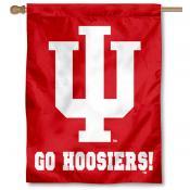 "IU ""Go Hoosiers"" House Flag"