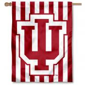 IU Hoosiers Candy Stripe Pants Logo House Flag