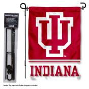 0f2b716813f Sports Mem, Cards & Fan Shop IU Hoosiers Basketball Garden Flag and Yard  Banner
