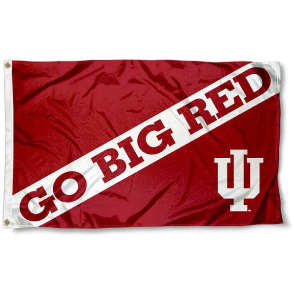 IU Hoosiers Go Big Red Flag