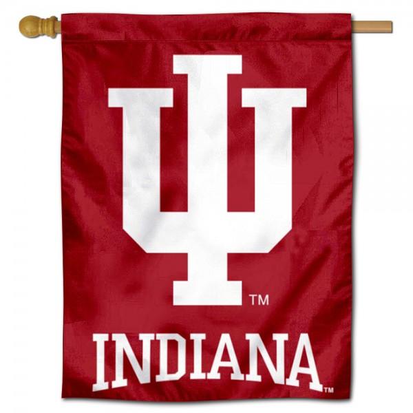 IU Hoosiers House Flag