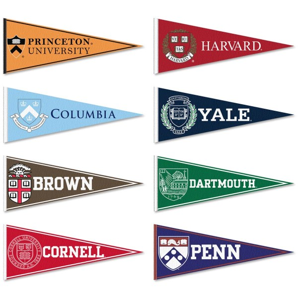 Ivy League Felt Pennant Set