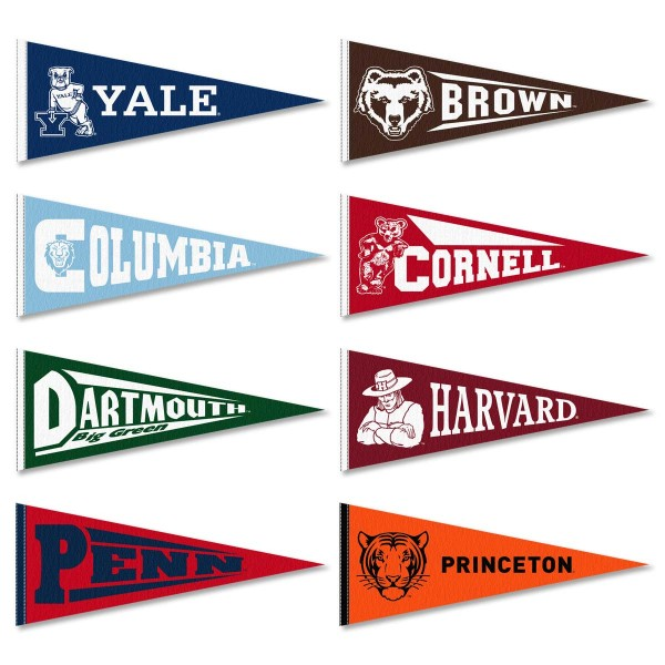 Ivy League Pennant Set