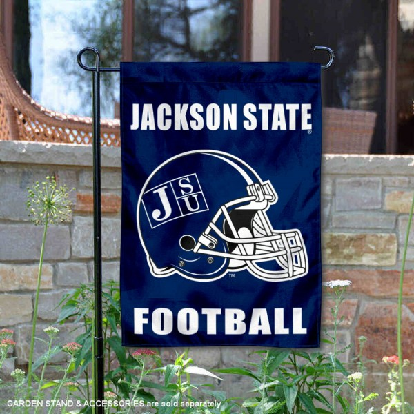 Jackson State Tigers Football Garden Flag