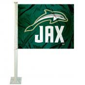 Jacksonville Dolphins Car Flag