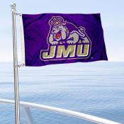 James Madison Dukes Boat Flag