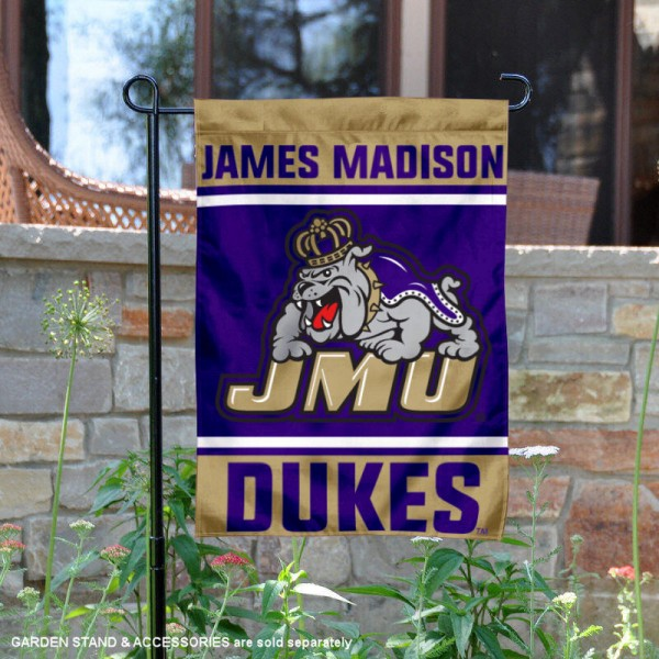 James Madison Dukes Garden Flag