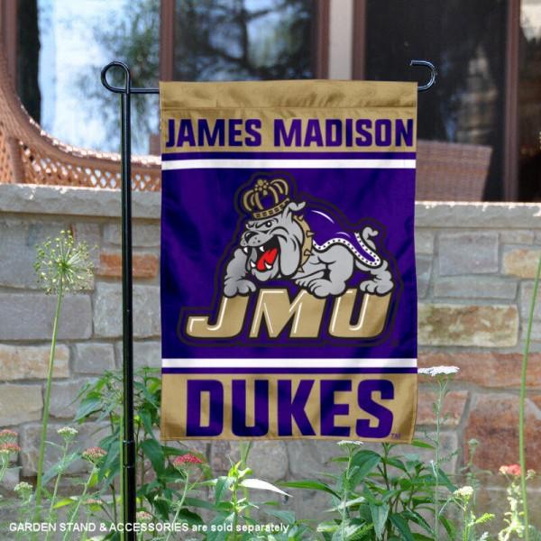 James Madison Dukes Garden Flag