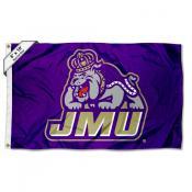James Madison Dukes Logo 6x10 Large Flag
