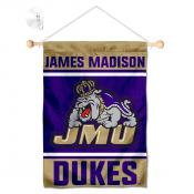 James Madison Dukes Window Hanging Banner with Suction Cup