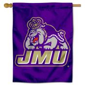 James Madison University House Flag