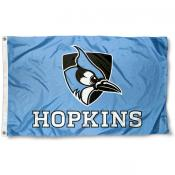 JHU Blue Jays Blue Flag