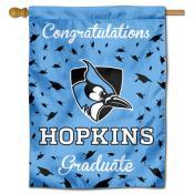 JHU Blue Jays Graduation Banner
