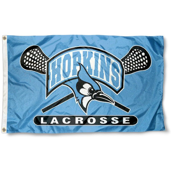 JHU Blue Jays Lacrosse Flag