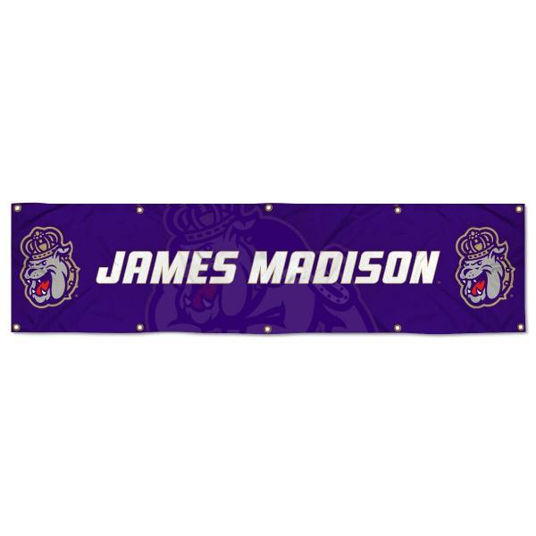 JMU Dukes 2x8 Banner