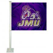 JMU Dukes Car Flag
