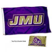 JMU Dukes Dual Logo Two Sided 3x5 Flag