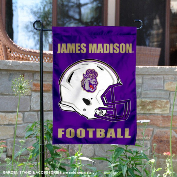 JMU Dukes Football Garden Flag