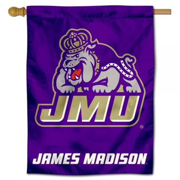 JMU Dukes House Flag