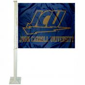 John Carroll Blue Streaks Car Flag