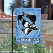 John Hopkins University Blue Garden Flag