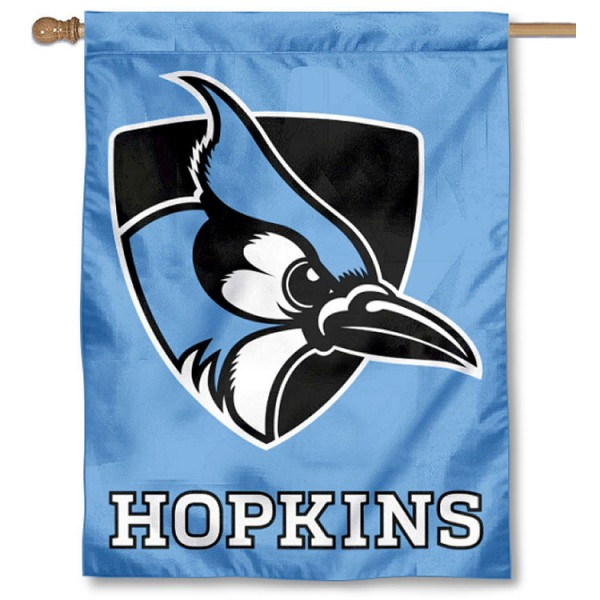 John Hopkins University Logo House Flag